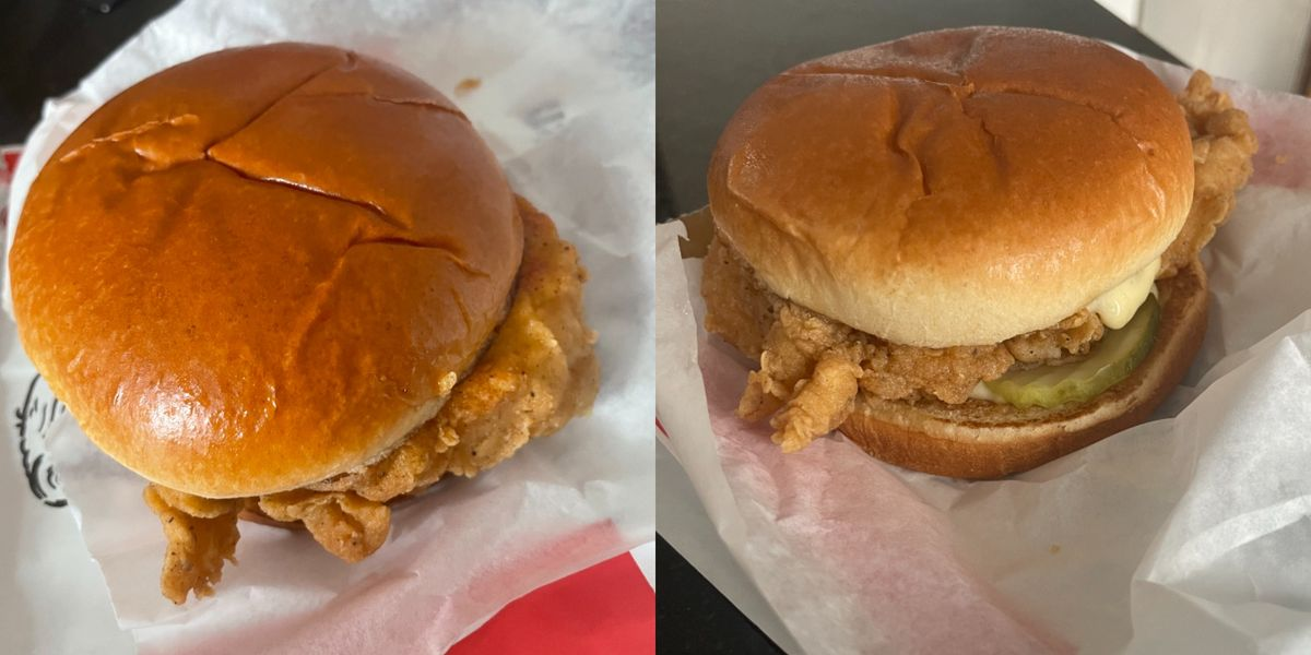 We Tried KFC's New Chicken Sandwich And It's Worth Trying For The Bun Alone