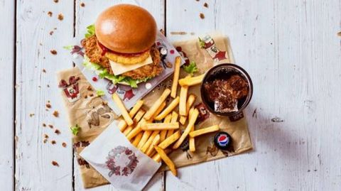 KFC Is Now Selling A Christmas Dinner Box