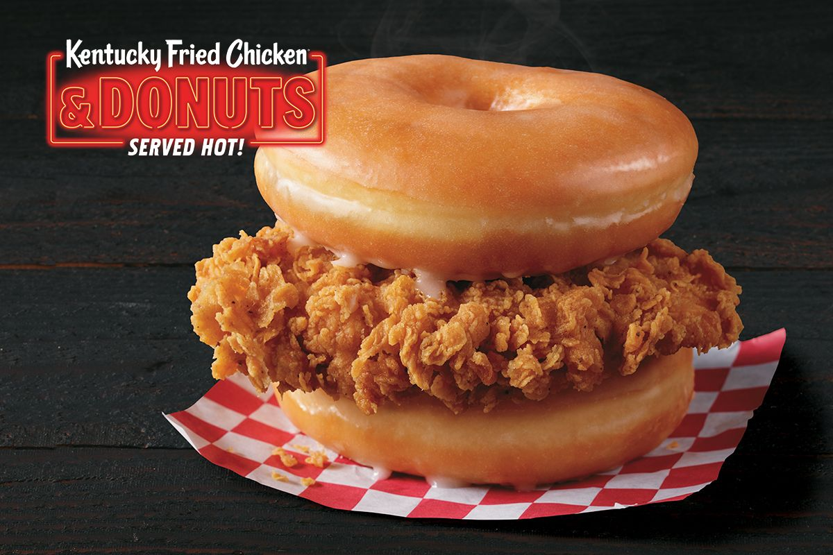 KFC Is Testing Out A Donut And Fried Chicken Sandwich