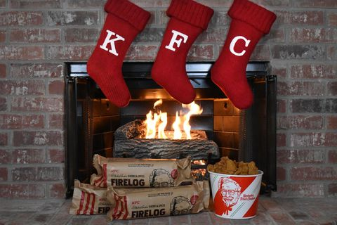 Christmas stocking, Hearth, Fireplace, Room, Heat, Brick, Architecture, Home, House,