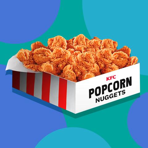 kfc popcorn chicken nuggets