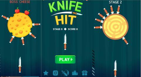 3.Knife Hit