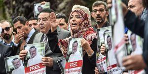 TURKEY-SAUDI-POLITICS-DIPLOMACY-DEMO