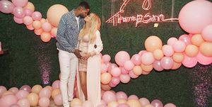 khloe baby shower