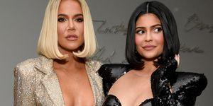 Kylie Jenner en Khloé Kardashian