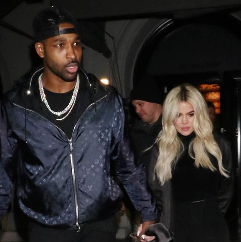 Khloe and Tristan together on January 13.