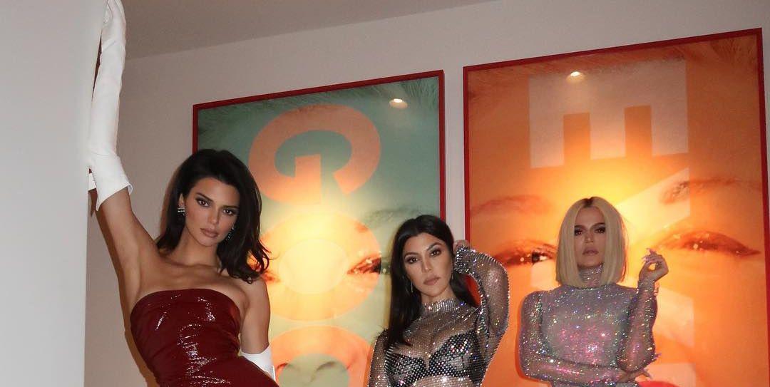 90dde53f122 Khloé Kardashian Shows Off Amazing Body In Sheer Bodysuit On Instagram