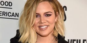 Khloe Kardashian at Good American Jeans launch event