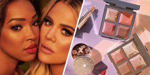 khloe kardashian malikha becca makeup collection