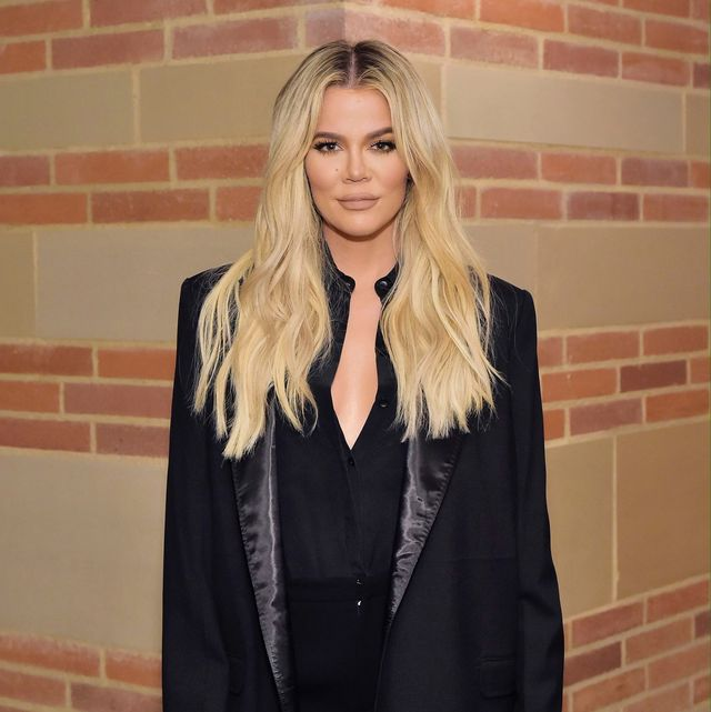 Khloe Kardashian Showed Her Natural Hair And It S So Short And Curly
