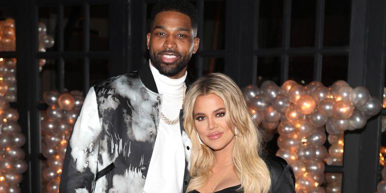Khloe Kardashian en Tristan Thompson