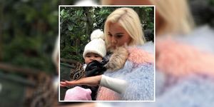 Khloe Kardashian took True Thompson to hang out with butterflies