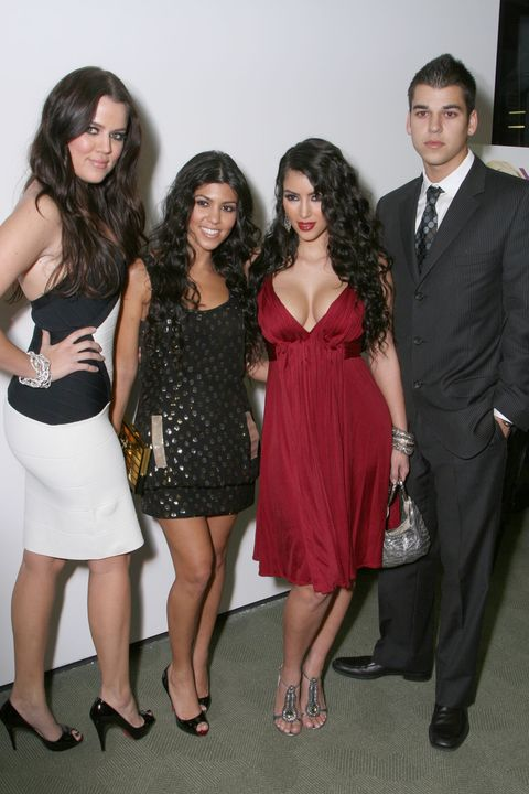 reality star red carpet premiere of keeping up with the kardashians