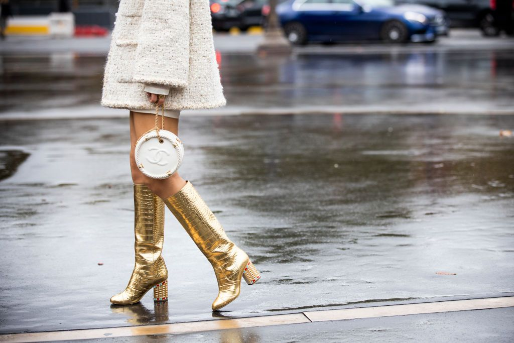 In Case You Haven't Noticed, Knee-High Boots Have Surpassed Over-the-Knee Boots in Coolness