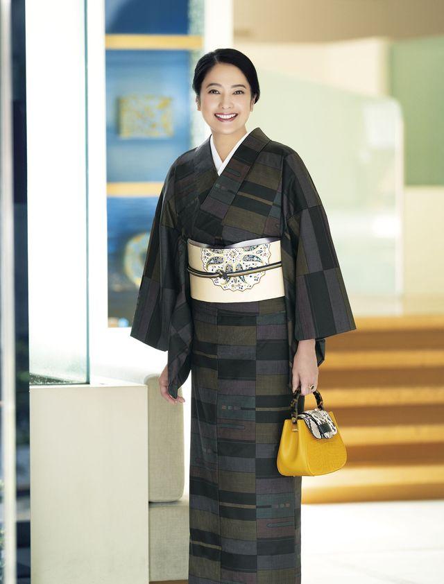 富澤輝実子のいまどき着物相談室 美術館巡りの着物