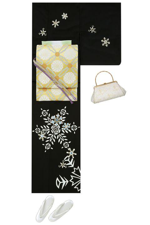 12月,年末,年の瀬,訪問着,和装,コーディネート,袋帯,冬,着物,帯