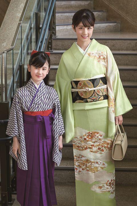 小倉優子さんの卒業式スタイル