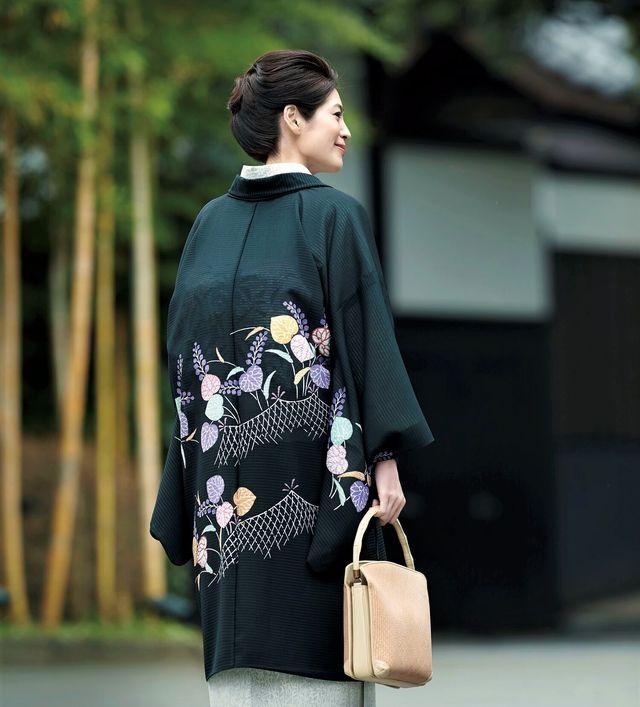富澤輝実子さんの着物相談室 夏のコート