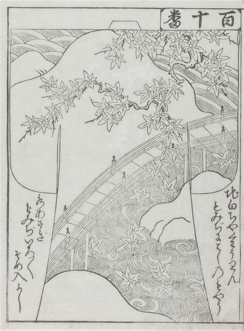 美しいキモノ2020年秋号表紙の着物 染の百趣矢野 小袖写し 小袖雛形 西川夕紅葉