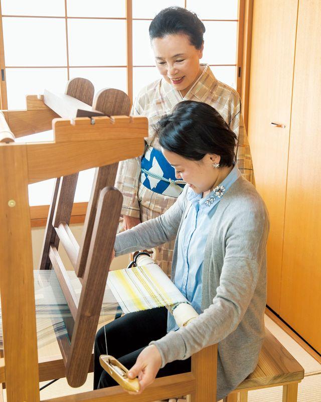 「アルスシムラ」×「美しいキモノ」コラボ講座開講 おうちで織る私の帯 機織り通信講座始まります!