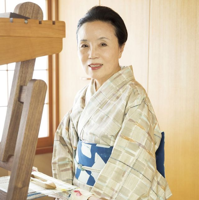 染織家 志村洋子さん