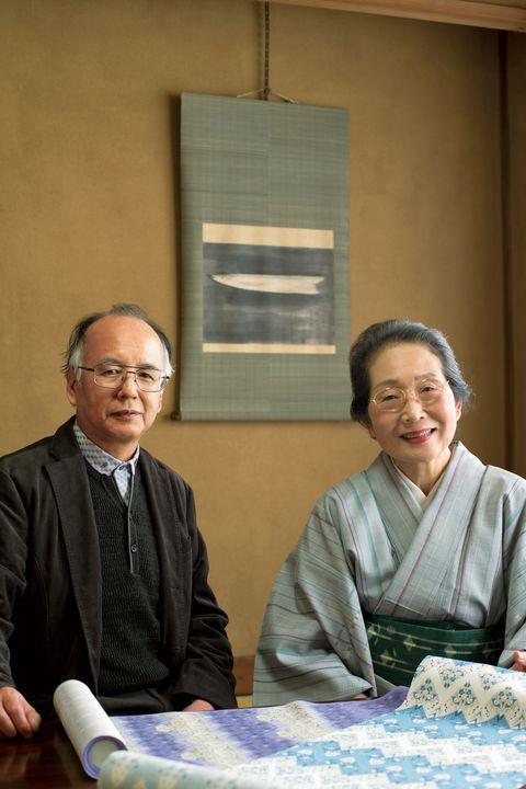 鈴田滋人さん(左)と佐々木苑子さん(右)