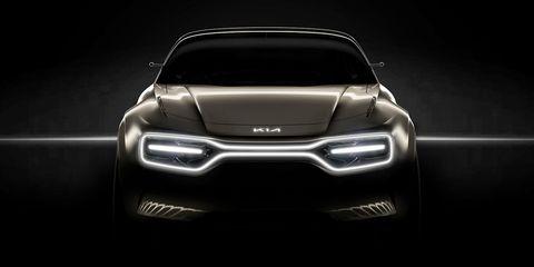 Kia EV concept teaser