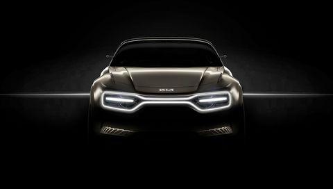 Kia's EV Concept for Geneva Has a New Kia Logo and Lights for a Grille
