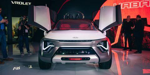 ยานพาหนะทางบก, รถยนต์, รถยนต์, การแสดงรถยนต์, ยานยนต์, รถสปอร์ตยูทิลิตี้, การออกแบบยานยนต์, รถแนวคิด, มิตซูบิชิ, มินิ SUV,
