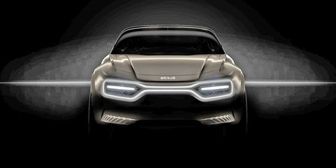 Kia's Performance EV Concept Looks Like a Robotic Stinger