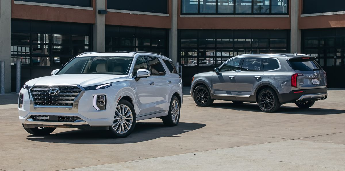 2020 Hyundai Palisade vs. 2020 Kia Telluride: Which All-New Three-Row SUV Is the Best?