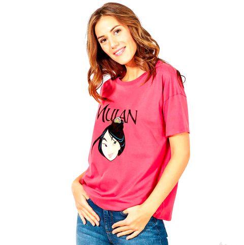 camiseta de kiabi con mulan