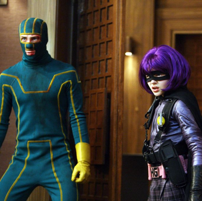 Kick-Ass A nerdy high schooler takes his love of comics to the next level by becoming a superhero, despite having no super powers or special skills. But when his embarrassing exploits turn him into a viral star, an actual crime boss considers him a new threat to his business.