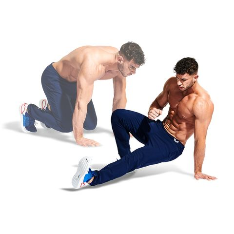 Arm, Muscle, Leg, Abdomen, Knee, Thigh, Chest, Physical fitness, Barechested, Trousers,