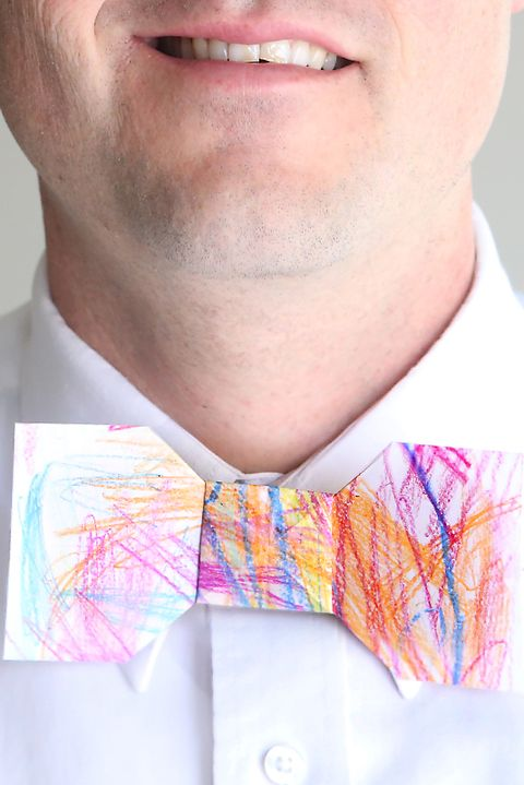 Bowtie - Father's Day Crafts