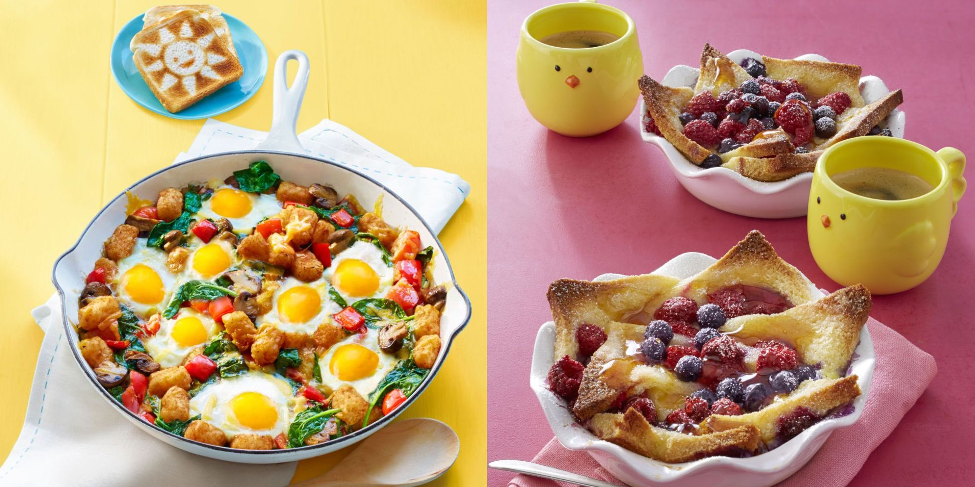 Looking for quick and easy breakfast recipes? Here are our best, fast breakfast recipes to get you out the door and off to a good start. Browse 1, quick breakfast ideas. Homemade granola is much cheaper and tastier than store-bought—and a bowl of cereal makes weekday morning breakfasts quick.