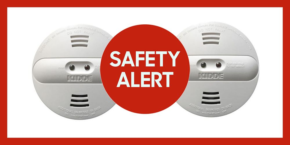 over 450,000 kidde smoke alarms were recalled due to a manufacturing error that prevents them from detecting smoke.