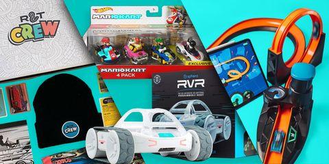 kid gift list photo collage