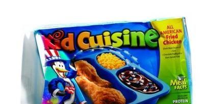 Packaged kids' food
