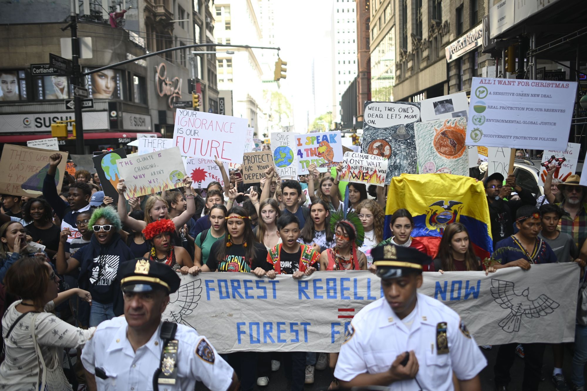 Thousands of Kids Marched in New York to Sound the Alarm: Our Future Is in Peril, and the Future Is Now
