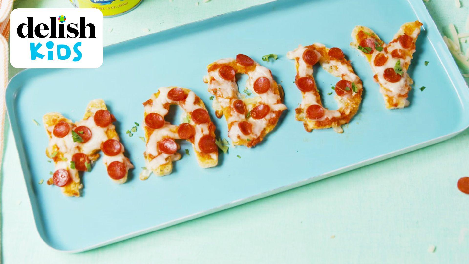 Best Alphabet Pizza Video - How to Make Alphabet Pizza Video