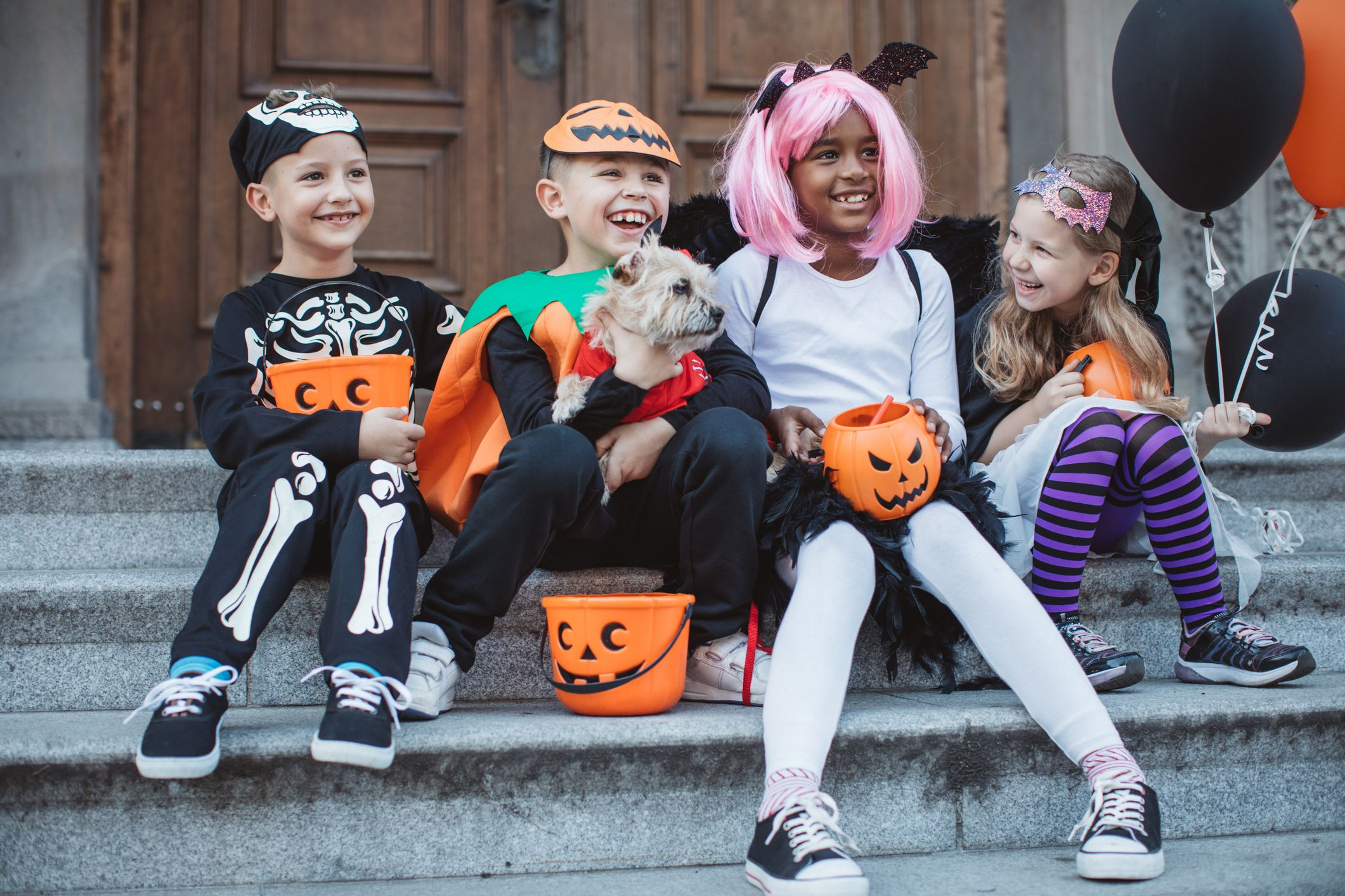 LMYOVE Girls Black Cat Costume Halloween Costume Dress for Kids