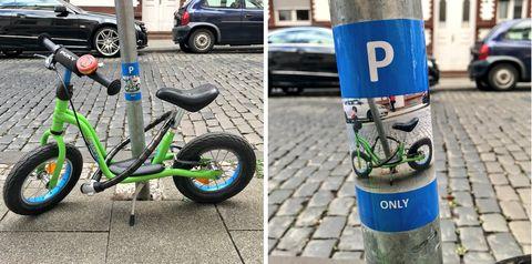 Kids Bike Sticker