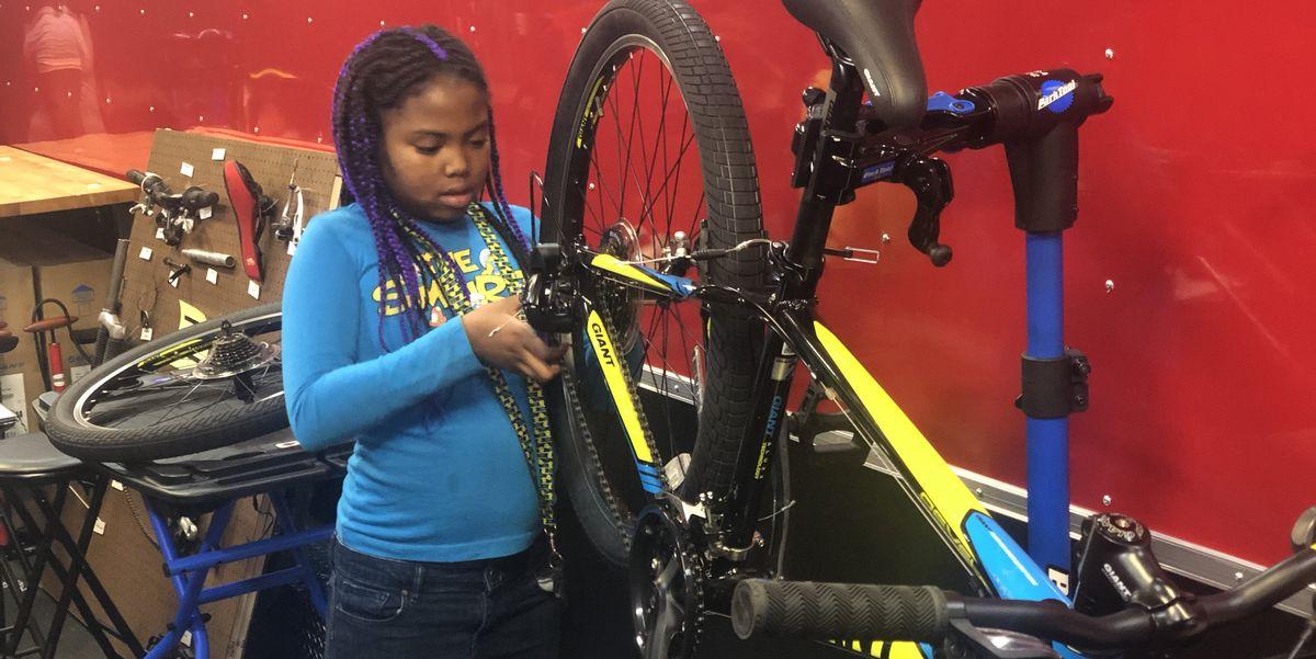 This Indianapolis Non-Profit Is Teaching Kids STEM Skills Through Free Bike Mechanic Classes
