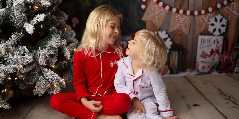 Kids Christmas.22 Kids Christmas Pajamas That Are Perfect For Opening Presents