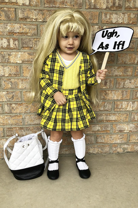 toddler cher costume