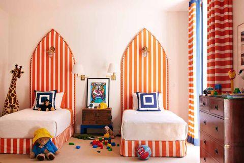 Bedroom, Decoration, Bed, Furniture, Room, Interior design, Bed frame, Red, Bed sheet, Property,