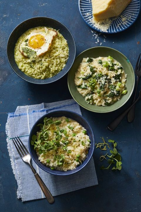 kids dinner ideas  instant pot risotto with parmesan
