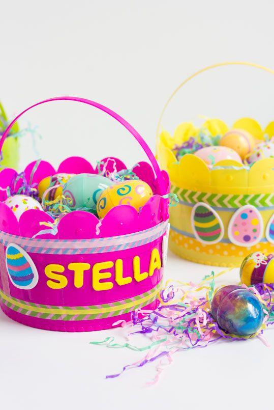 Kids Baskets - Easter Basket Ideas