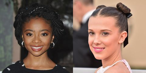how to make forehead look smaller with braids